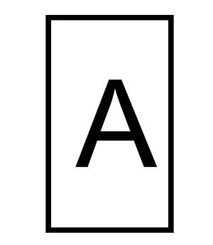 Refill Letter A