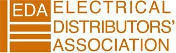 EDA full logo orange out of white with apostrophe