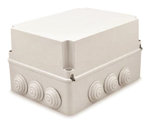 Junction Box with Blank Covers deeper